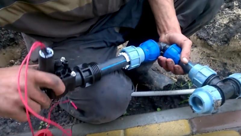 Система автоматического полива - устройство, монтаж своими руками
