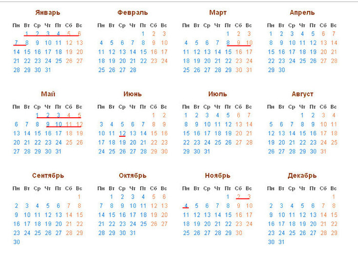 Как отдыхаем на майские праздники в 2019 году: выходные