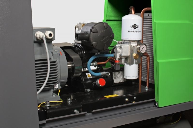 Как работают промышленные компрессоры?