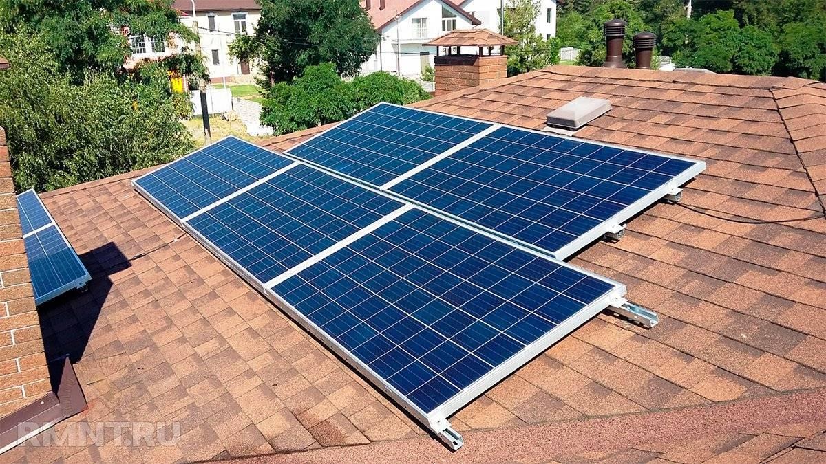 Сколько нужно солнечных батарей для обогрева дома?