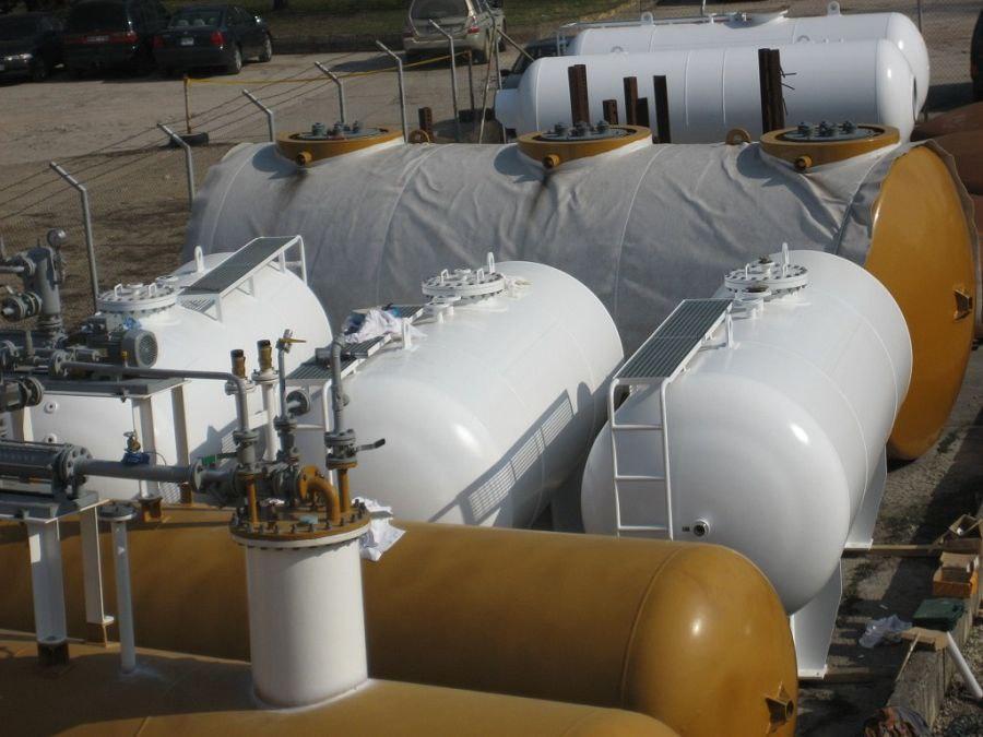 Промышленные сосуды под давлением: характеристики