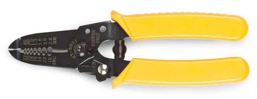 Какие используются инструменты для снятия изоляции с проводов?